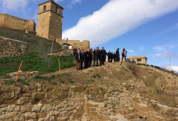 Visita Presidente muralla San Vicente