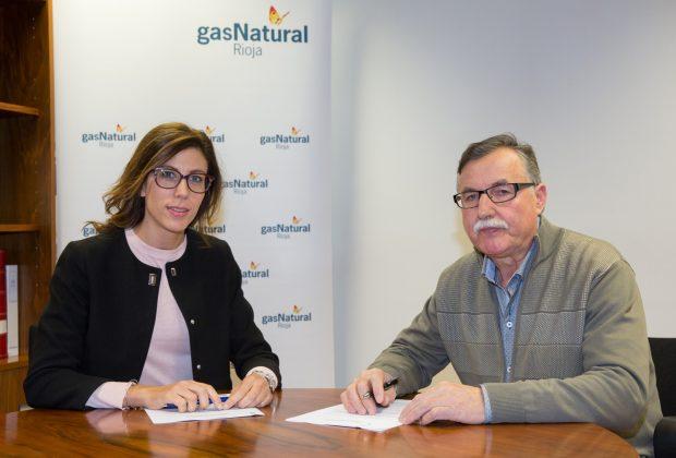 Convenio Gas Natural Rioja con Afoncagas