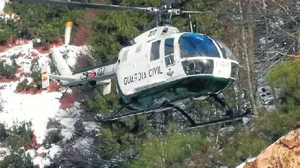 Helicóptero sobrevuela Valdezcaray