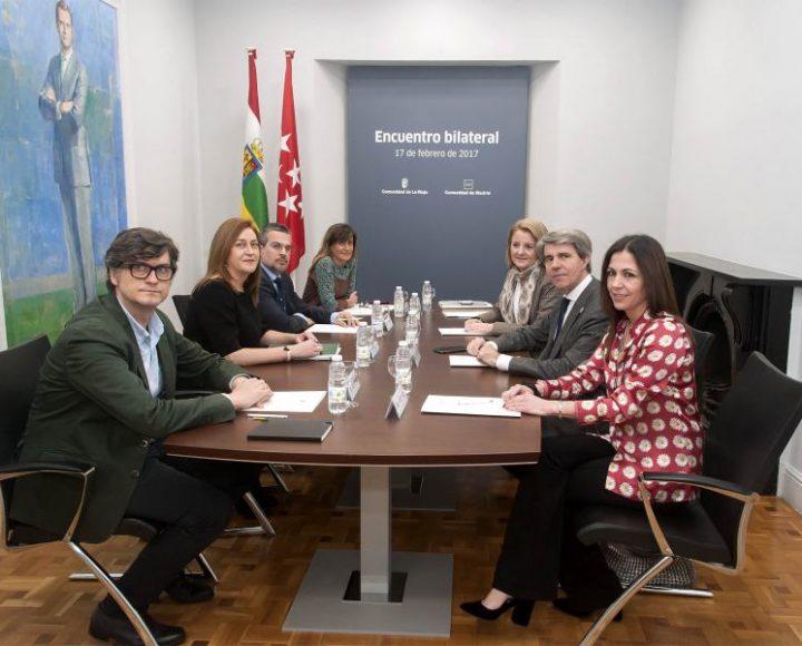 Consejeros de Presidencia de La Rioja y Madrid