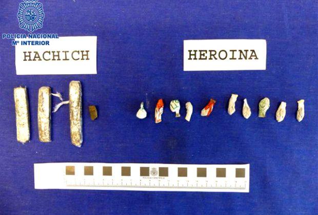 HEROINA Y HACHISH