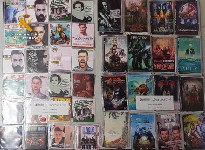 Cd y dvd falsos