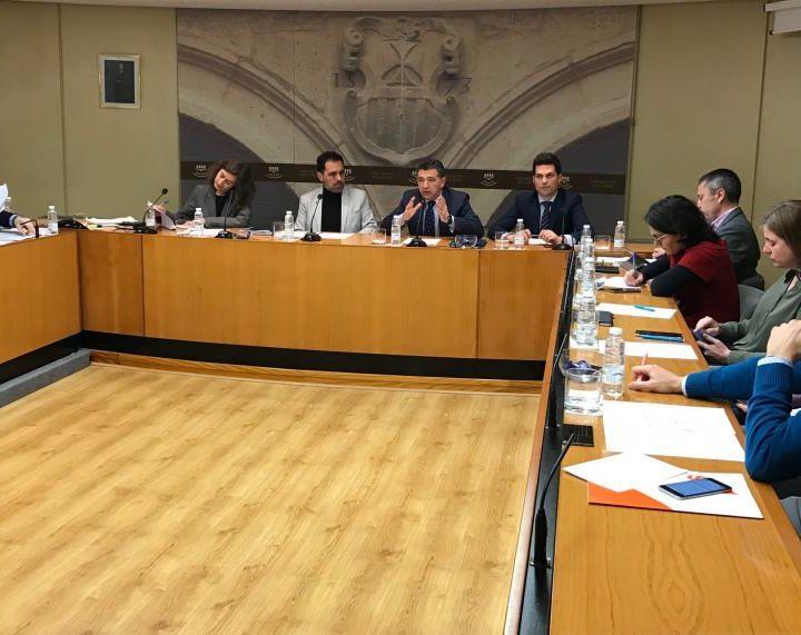 Carlos Cuevas comparecencia parlamento AP-68 tráfico pesado