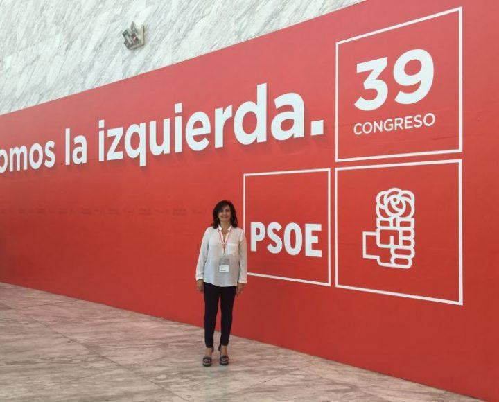 Concha Andreu_39 Congreso PSOE