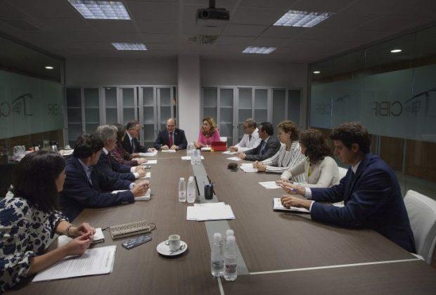 Reunión Salud Gobierno Vasco