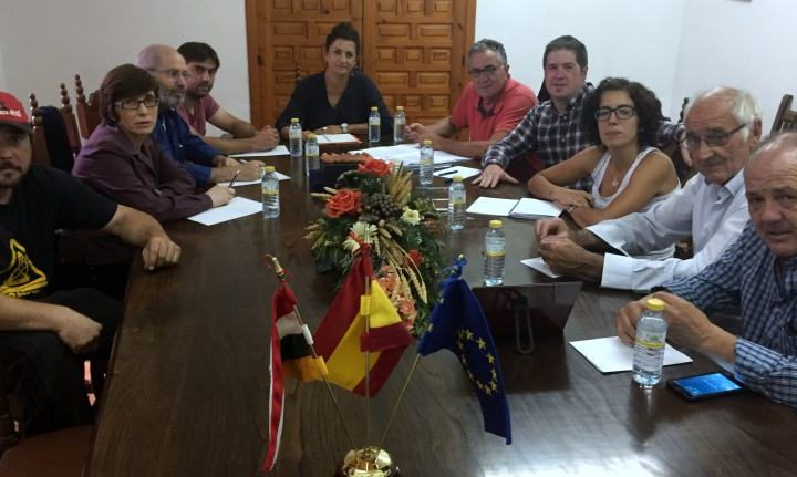 Reunión del PSOE en Bañares