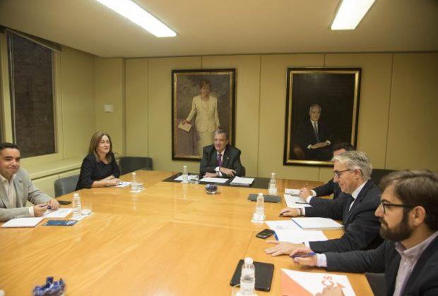 Reunión financiación grupos parlamentarios