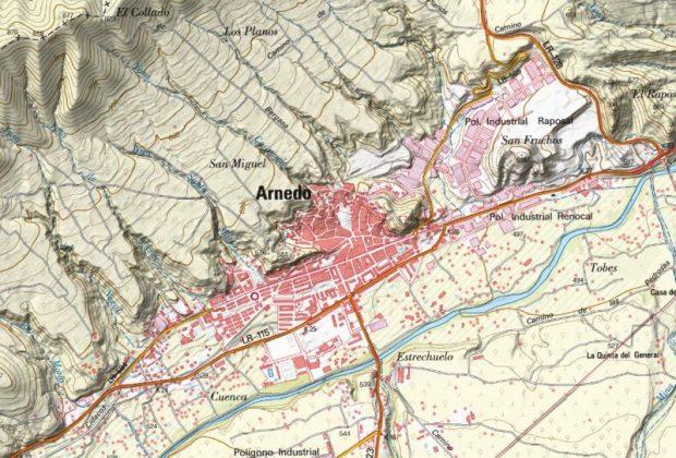 Mapa de Arnedo