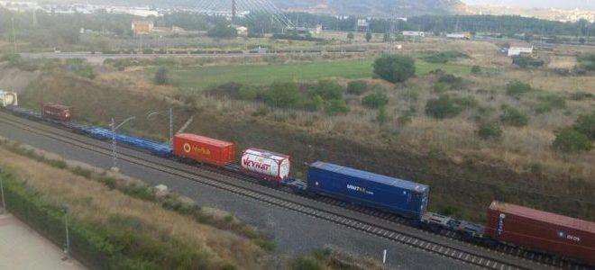Trenes en Los Lirios