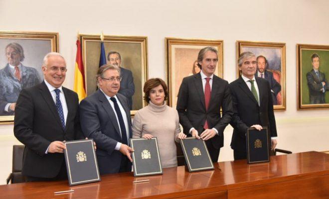 Firma convenio AP68 Madrid