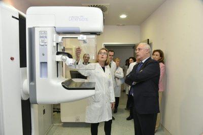 Visita PTE mamógrafo Hospital San Pedro 1