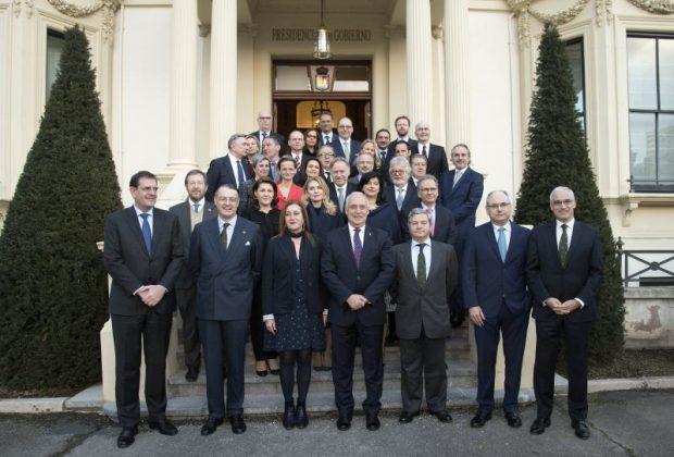 Recepción embajadores