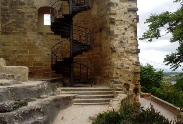 Torre del castillo de Briones