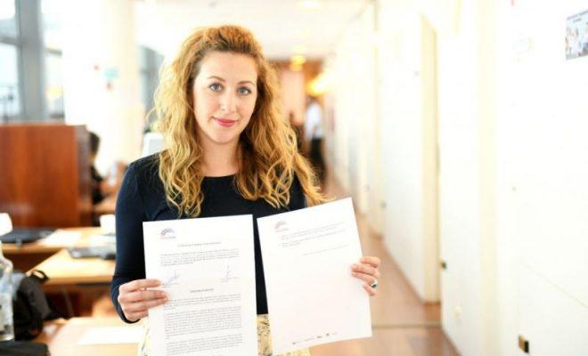 Sara Carreño registra iniciativa anti-AVE