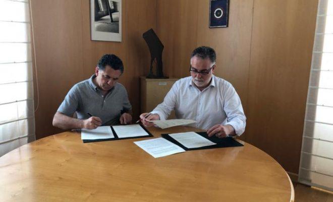 Firma convenio con la Federación Riojana de Municipios