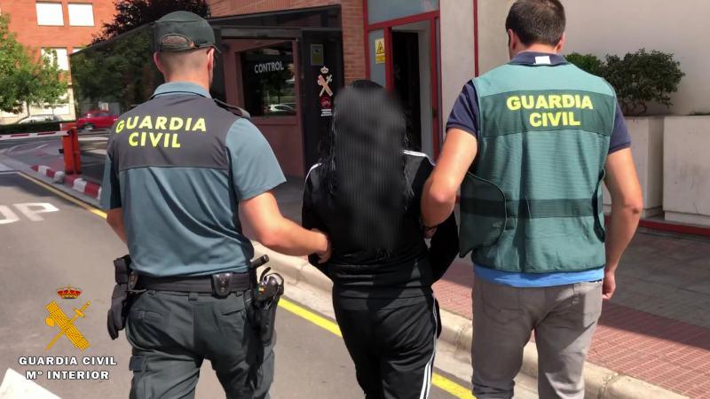 Traslado mujer detenida-2