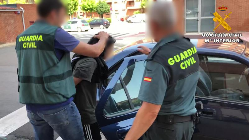 Traslado mujer detenida