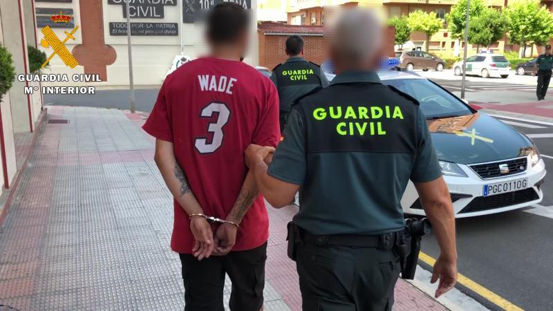 Traslado varon detenido