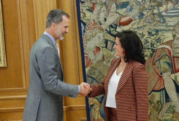 Felipe VI y Concha Andreu