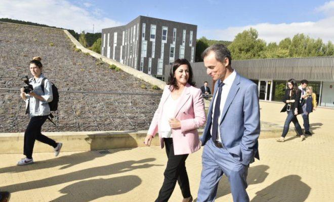 Visita Ministro Pedro Duque