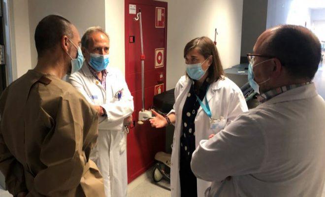 Salud refuerza Urgencias con más efectivos y una zona para mejorar los circuitos de pacientes