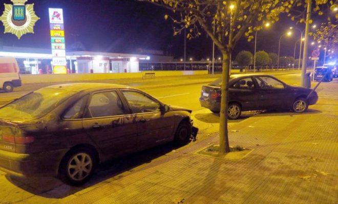 Conducción temeraria calle Tejeras