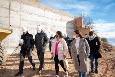Presidenta visita obras Calahorra 1